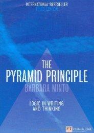 (MEDITATIVE) The Pyramid Principle: Logic in Writing and Thinking: Logical Writing, Thinking and Problem Solving (Financial Times Series) eBook PDF Download