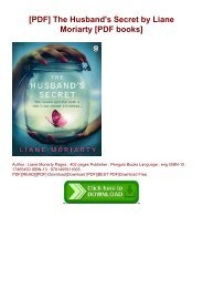 [PDF] The Husband's Secret by Liane Moriarty [PDF books]