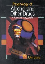 (SPIRITED) JUNG: PSYCHOLOGY OF ALCOHOL AND (P) OTHER DRUGS; A RESEARCHPERSPECTIVE: A Research Perspective eBook PDF Download