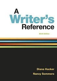 (RECOMMEND) A Writer s Reference eBook PDF Download