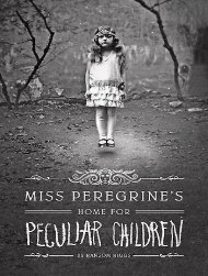 Miss Peregrine's Home for Peculiar Children - BOOCarz