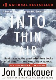 (GRATEFUL) Into Thin Air: A Personal Account of the Mt. Everest Disaster eBook PDF Download