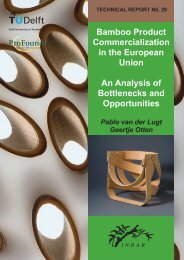 Bamboo Product Commercialization for the West - Key Features of ...