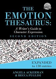(SECRET PLOT) The Emotion Thesaurus: A Writer s Guide to Character Expression eBook PDF Download