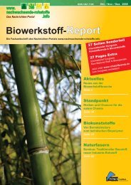 Biowerkstoff-Report - nova-Institut GmbH
