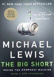 (MEDITATIVE) The Big Short: Inside the Doomsday Machine eBook PDF Download