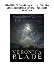 (ADAPTABLE) Something Witchy This Way Comes (Something Witchy, #1) ebook eBook PDF
