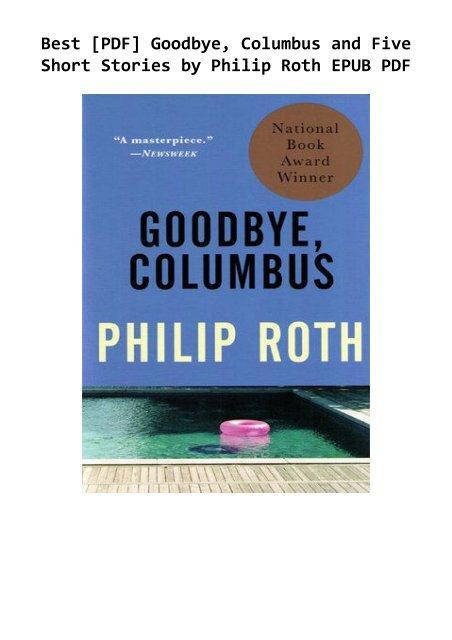 Goodbye columbus by phillip roth essay