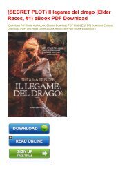 (SECRET PLOT) Il legame del drago (Elder Races, #1) eBook PDF Download