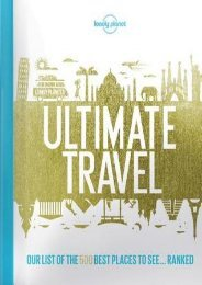 (FUNNY) Lonely Planet's Ultimate Travel: Our List of the 500 Best Places to See... Ranked eBook PDF Download