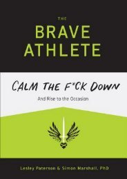 (MEDITATIVE) The Brave Athlete: Calm the F*ck Down and Rise to the Occasion eBook PDF Download