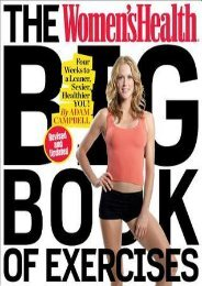(BARGAIN) The Women's Health Big Book of Exercises: Four Weeks to a Leaner, Sexier, Healthier You! eBook PDF Download