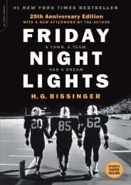 (BARGAIN) Friday Night Lights: A Town, a Team, and a Dream eBook PDF Download