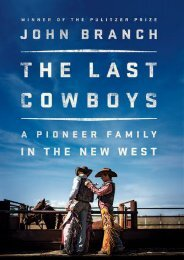 (SECRET PLOT) The Last Cowboys: A Pioneer Family in the New West eBook PDF Download