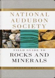 (MEDITATIVE) National Audubon Society Field Guide to North American Rocks and Minerals eBook PDF Download