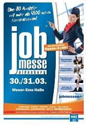 Der Messe-Guide zur 13. jobmesse oldenburg