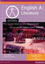 9780435032623, Pearson Baccalaureate English A1 Literature (Pearson Baccalaureate) SAMPLE40