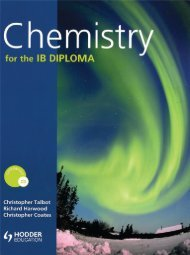 9780340985052, Chemistry for the IB Diploma SAMPLE40