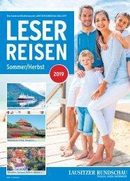 Leserreisen Sommer/Herbst 2019