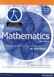 9780435074968, Pearson Baccalaureate Higher Level Mathematics Revised 2012 SAMPLE40