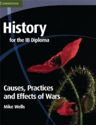 9780521189316, History for the IB Diploma, Causes, Practices and Effects of Wars SAMPLE40