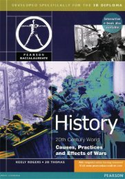 9780435994433, Pearson Baccalaureate History - Causes, Practices and Effects of War SAMPLE40