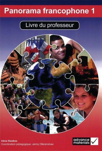 9780957601208, Panorama Francophone 1 Livre du Professeur SAMPLE40