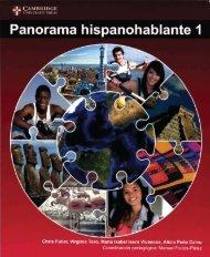 9781107572799, Panorama Hispanohablante 1 Libro de alumno SAMPLE40