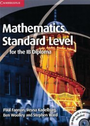 9781107613065, Mathematics Standard Level for the IB Diploma SAMPLE40