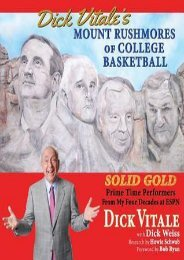 (STABLE) Dick Vitale's Mount Rushmores of College Basketball: Solid Gold Prime Time Performers from My Four Decades at ESPN eBook PDF Download