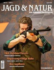 Jagd & Natur Ausgabe April 2019 | Vorschau