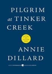 (SECRET PLOT) Pilgrim at Tinker Creek eBook PDF Download