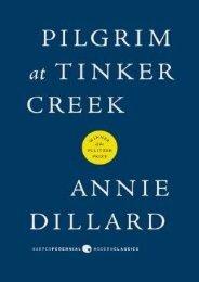 (SECRET PLOT) Pilgrim at Tinker Creek eBook PDF Download