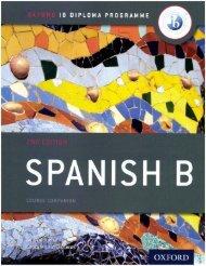 SHELF Spanish B Course Companion OUP 40p
