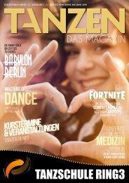 Tanzschule Ring 3 - Tanzen - Das Magazin Augabe 7