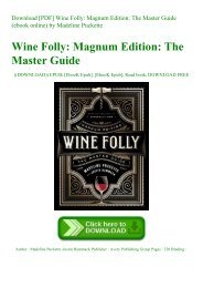 Download [PDF] Wine Folly Magnum Edition The Master Guide (ebook online) by Madeline Puckette