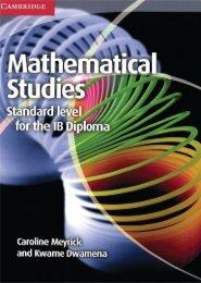 9781107691407, Mathematical Studies for the IB Diploma SAMPLE40