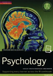 9781447990659, Pearson Baccalaureate Psychology (print   eText bundle) SAMPLE40