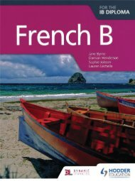 9781471804182, French B for the IB Diploma SAMPLE40