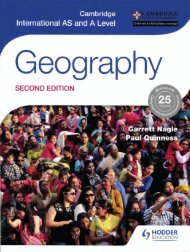 9781471868566, Cambridge International AS and A Level Geography Second Edition SAMPLE40