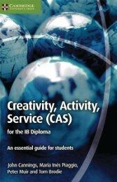 SHELF 9781107560345, Creativity, Activity, Service (CAS) SAMPLE40