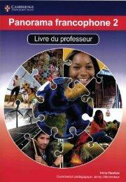 SHELF 9781107577053, Panorama Francophone 2 Livre du Professeur SAMPLE40