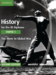 SHELF 9781107556287, History for the IB Diploma Paper 1 The Move to Global War SAMPLE40