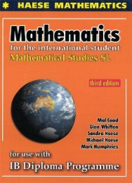 SHELF 9781921972058, Mathematical Studies SL, 3rd Edition (Textbook   CD) SAMPLE40