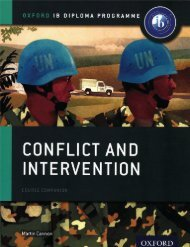 SHELF 9780198310174, IB History Conflict and Intervention Course Book SAMPLE40
