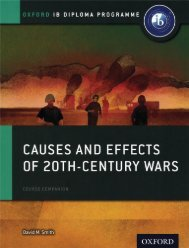 SHELF 9780198310204, History Causes and Effects of 20th Century Wars Course Book SAMPLE40