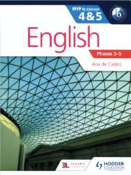SHELF 9781471868450, English B by Concept for the IB MYP 4 & 5 SAMPLE40
