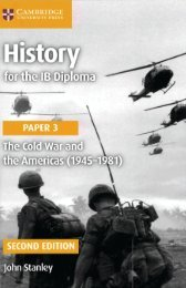 SHELF 9781316503751, History for the IB Diploma Paper 3 The Cold War and the Americas 1945-1981 SAMPLE40