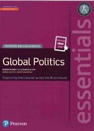 SHELF 9781447999263, Pearson Essentials Global Politics (Print   eText bundle) SAMPLE40