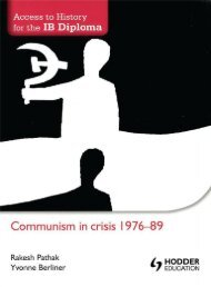 SHELF 9781444156386, Access to History for the IB Diploma Communism in Crisis 1976-89 SAMPLE40